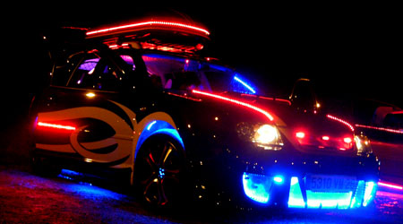 Kit bande led tuning auto