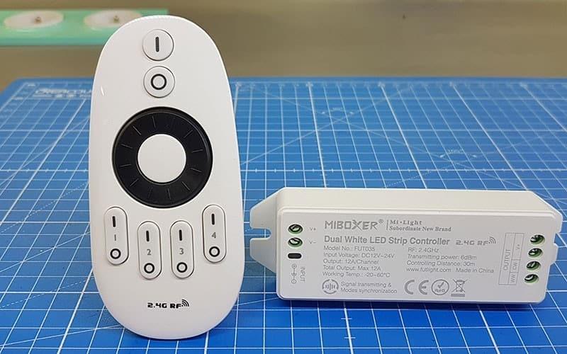Tuto vidéo : Raccorder et contrôler le variateur LED multizone.