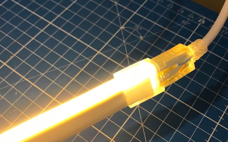 Comment couper et raccorder le néon LED 220V direct ?