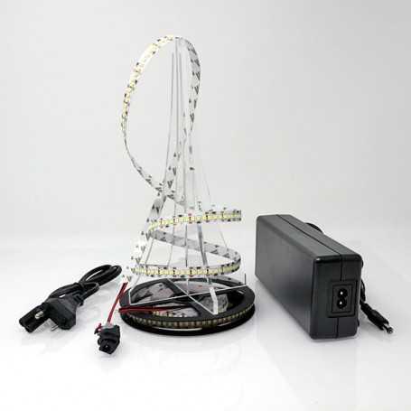 Kit bande led blanc froid 204led/m IP20 5m 220V