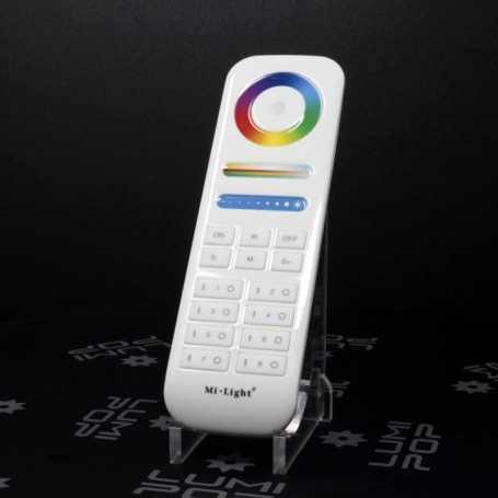 Télécommande LED RGBW/RGB+CCT 8 zones Mi-Light au détail