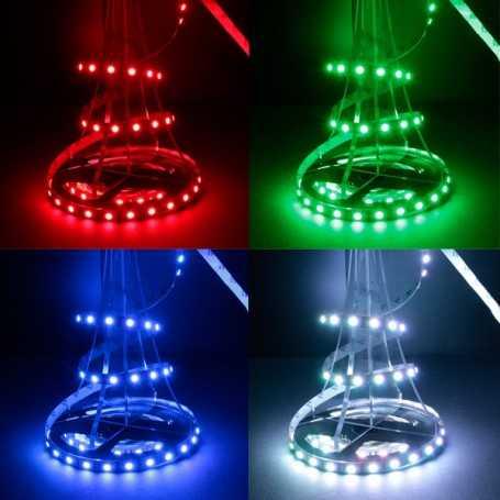 Bande LED RGB changement de couleur 60LED/m IP20 2m50