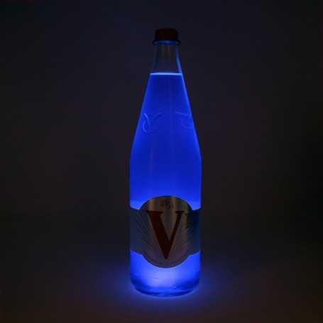 Dessous de verre lumineux LumiStick LED bleu
