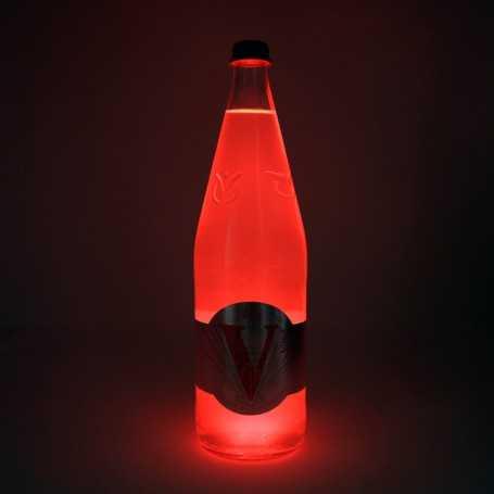 Dessous de verre lumineux LumiStick LED rouge