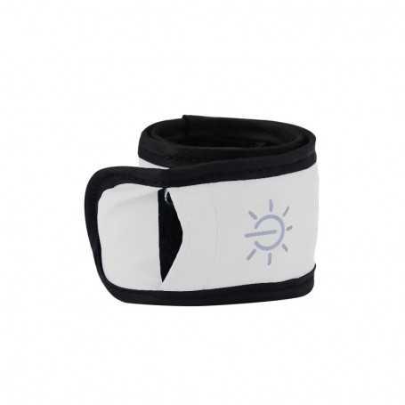 Bracelet lumineux LED blanc étanche pour sortie sportive