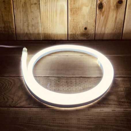 Néon LED flexible blanc froid 220V direct étanche