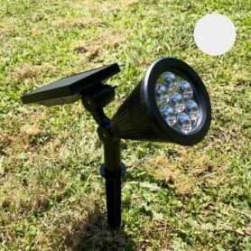 Spot solaire LED blanc froid 60 lumens