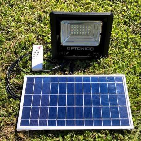 Projecteur LED solaire puissant 500 lumens