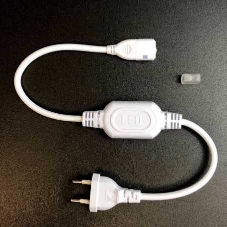 Kit de connexion pour ruban LED 220V direct