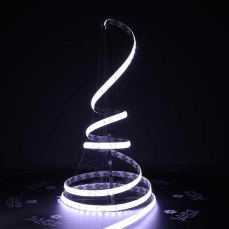 Ruban LED blanc froid 12V 120LED/m étanche 5m PREMIUM