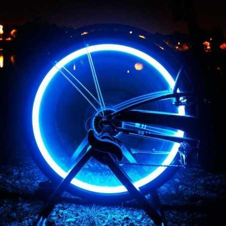 Tube flexible LED pour roue de vélo