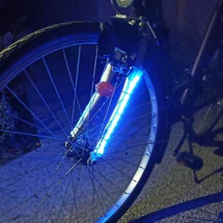 Bande LED RGB pour fourche et cadre de vélo
