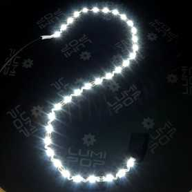 Ruban LED ZIGZAG blanc froid 6000K de 5m