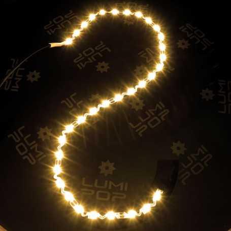 Ruban LED ZIGZAG blanc chaud 3000K de 5m