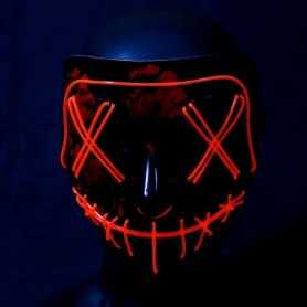 Masque lumineux La Purge rouge