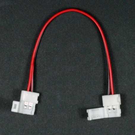 Connecteur rapide souple 2 bandes leds monocouleurs