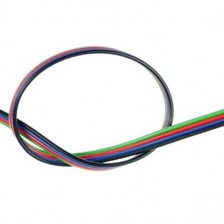 Câble électrique pour bande led RGB