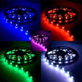 Ruban led flexible rgb kit 2m radiofréquence