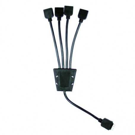 Connecteur 4 sorties pour ruban led RGB