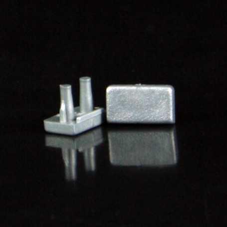 Bouchons de terminaison pour profilé led slim (x2)