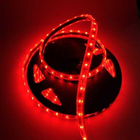 Led flexible rouge immersible IP68