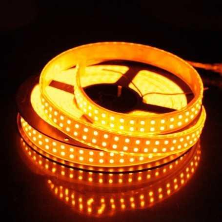 Bande led flexible orange 240 leds/m