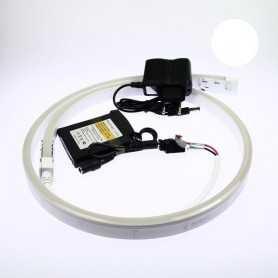 Kit batterie led neon flex blanc complet de 1 à 5m. Qualité premium