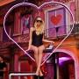 Enseigne Coeur en led neon flex pour David Guetta