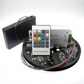 Kit bandeau led RGB à piles signal radiofréquence