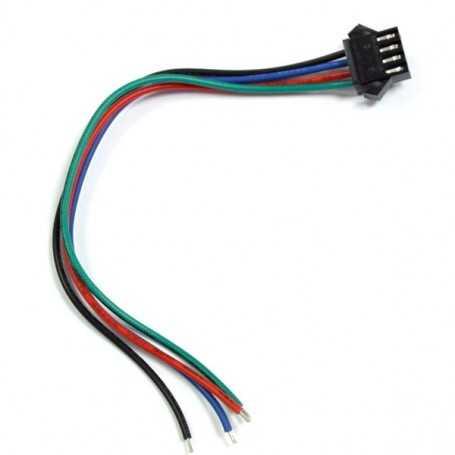 Connecteur led RGB femelle non etanche