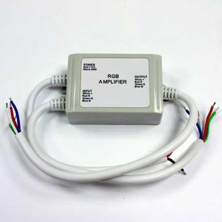 Amplificateur led RGB etanche 144W
