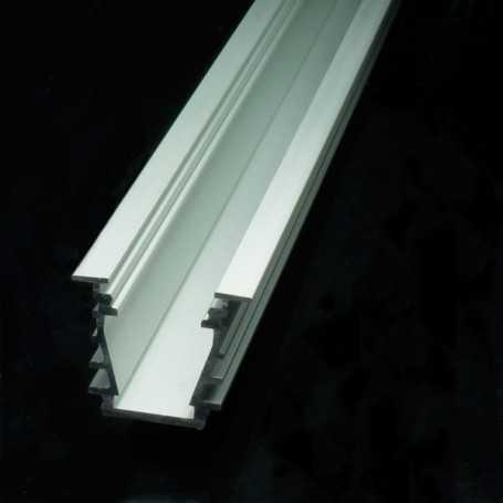 Profilé deep aluminium anodisé pour bande led