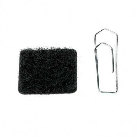 Patch Velcro partie velours 20x20mm
