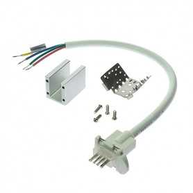 Connecteur d'alimentation étanche IP68 pour néon led RGB