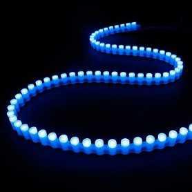 Bande led silicone 96leds/m bleu de 1m - Etanche IP65