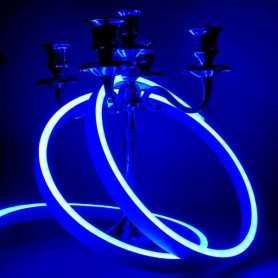 Néon LED Slim bleu 12V étanche 1m. Qualité PREMIUM