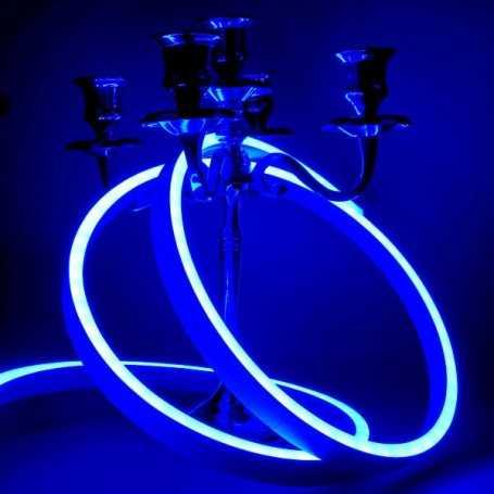 Néon LED Slim bleu 12V étanche 3m. Qualité PREMIUM