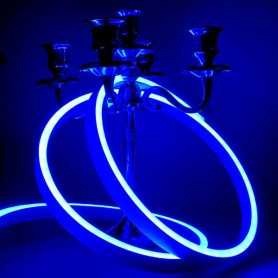 Néon LED Slim bleu 12V étanche 20m. Qualité PREMIUM