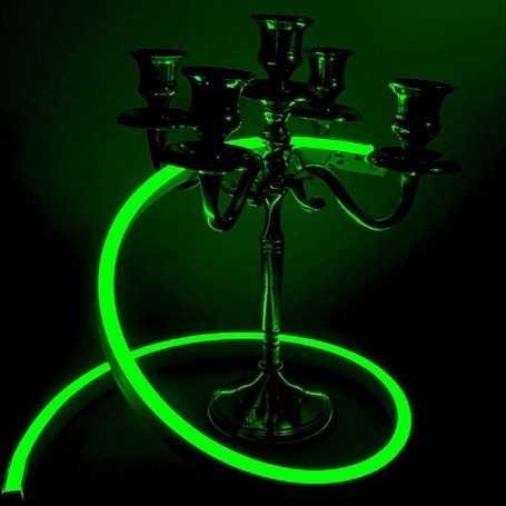 Néon LED Slim vert 12V étanche 4m. Qualité PREMIUM