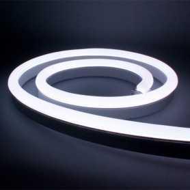 Néon LED Bulbe blanc froid 24V étanche 15m. Qualité PREMIUM