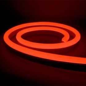 Néon LED Bulbe rouge 24V étanche 15m. Qualité PREMIUM