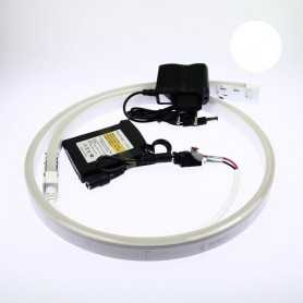 Kit néon led slim blanc 3m avec batterie 1800mAh