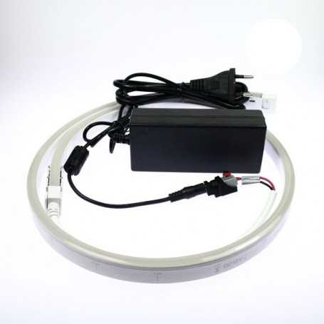 Kit néon led slim blanc 2m avec alimentation 220V