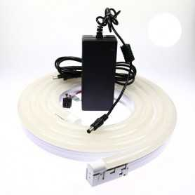 Kit néon led bulbe blanc 3m avec alimentation 220V