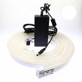 Kit néon led bulbe blanc 4m avec alimentation 220V
