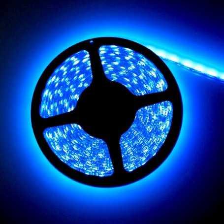 Led flexible bleu