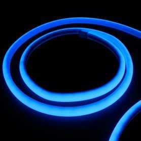 Kit ruban led néon bleu étanche IP68 5m avec boitier piles
