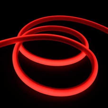 Kit ruban led néon rouge étanche IP68 5m avec batterie 4200mAh