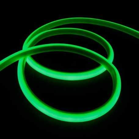 Kit ruban led néon vert étanche IP68 5m avec batterie 4200mAh