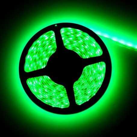 Led flexible vert